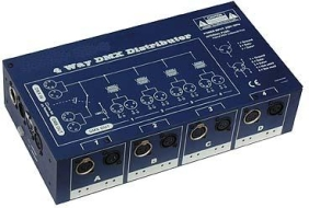 4 way DMX Distributor