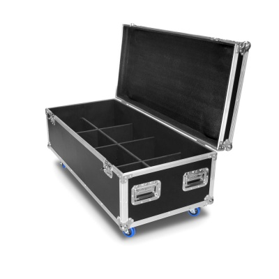 flight case per 8 led par