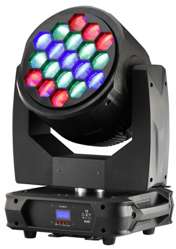 LED MOVING DIAMOND EYE COLOR 19x40W RGBW 4in1 RGBW ZOOM