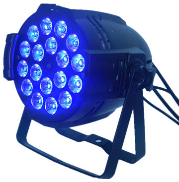 Led studio beam 18x18W RGBWAUV