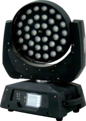 Led testa mobile Zoom 36x12W RGBW
