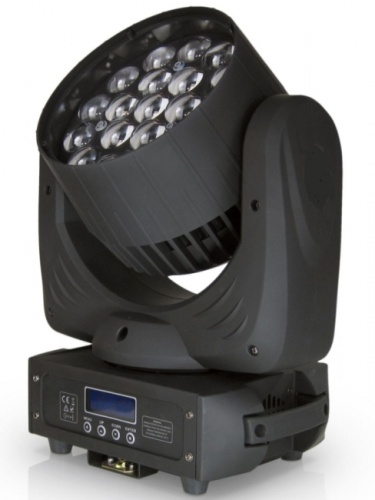 led testa mobile Zoom 19x15W RGBW