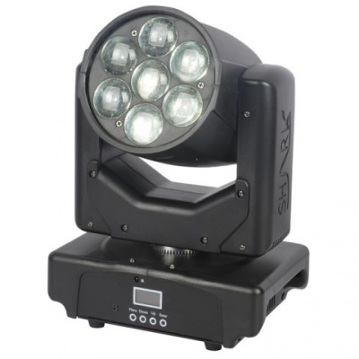 TESTA MOBILE LED ZOOM 7x12W RGBW full color 4in1