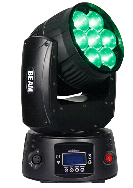 LED TESTA MOBILE ZOOM 7x15W RGBW 4in1 Osram led